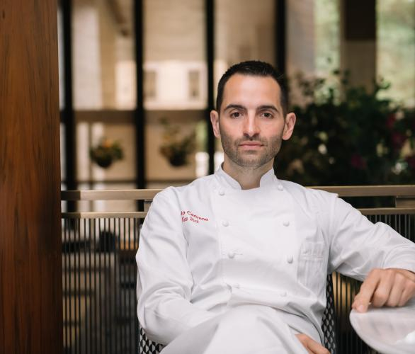 "alt= ""Meet Mario Carbone, Chef-restaurateur, Co-founder of Major Food Group"